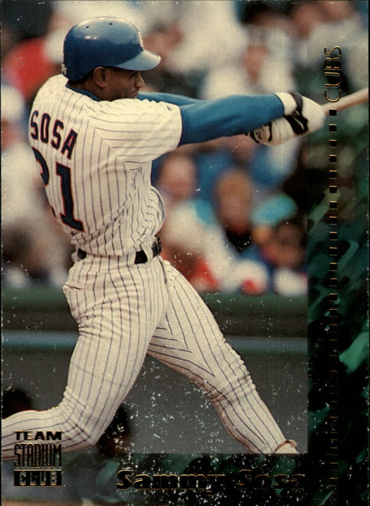 1994 Stadium Club Team #347 Sammy Sosa