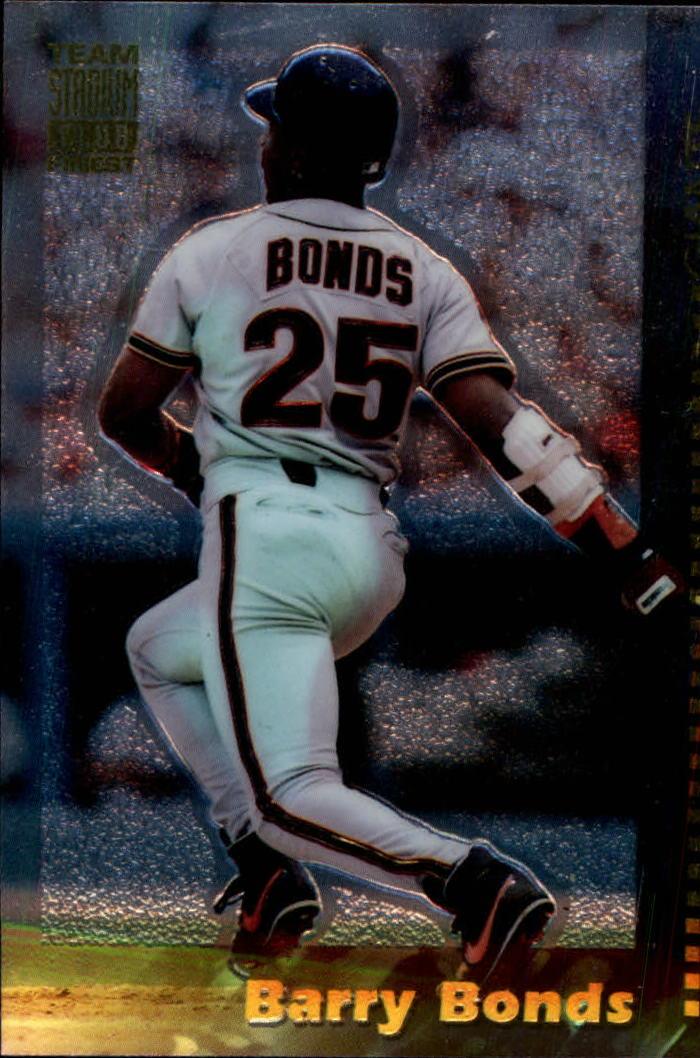 1994 Stadium Club Team Finest #2 Barry Bonds