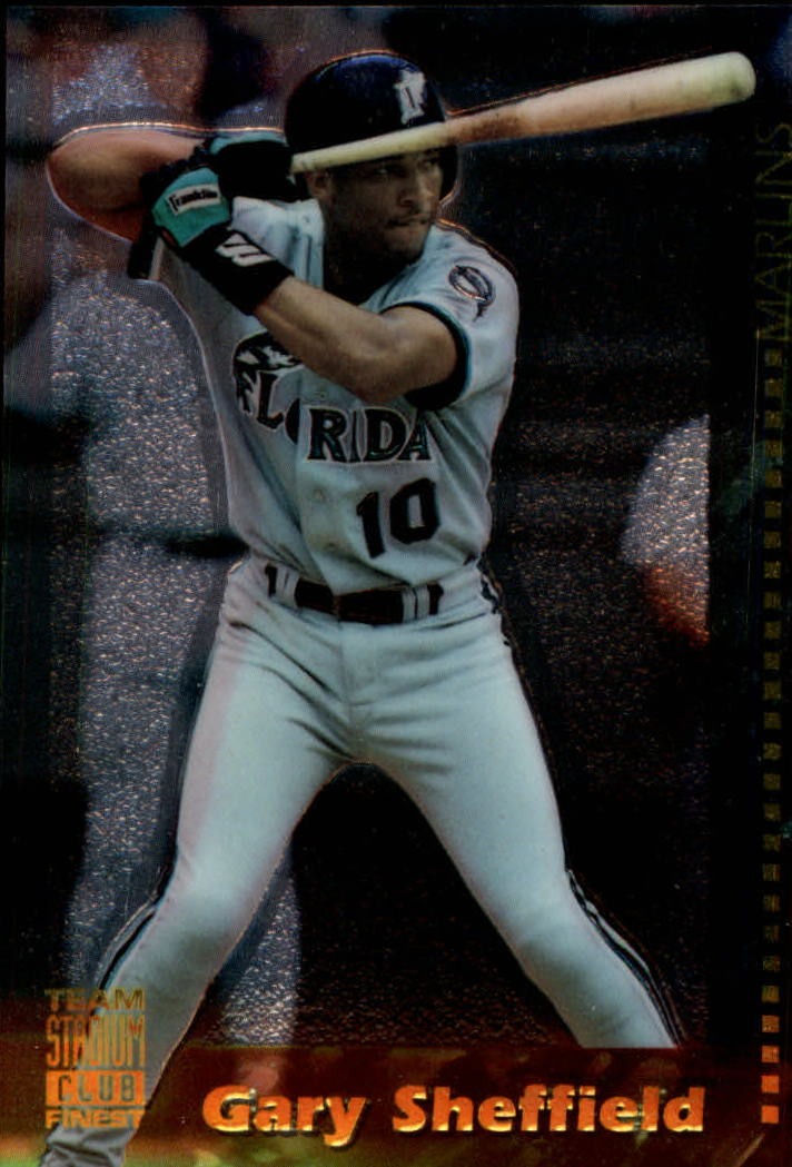 1994 Stadium Club Team Finest #10 Gary Sheffield