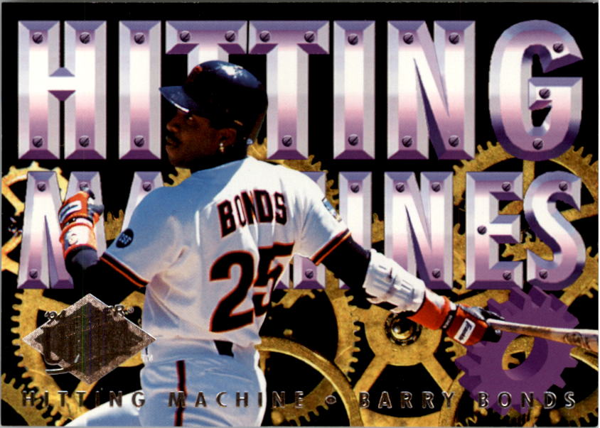 1994 Ultra Hitting Machines #3 Barry Bonds