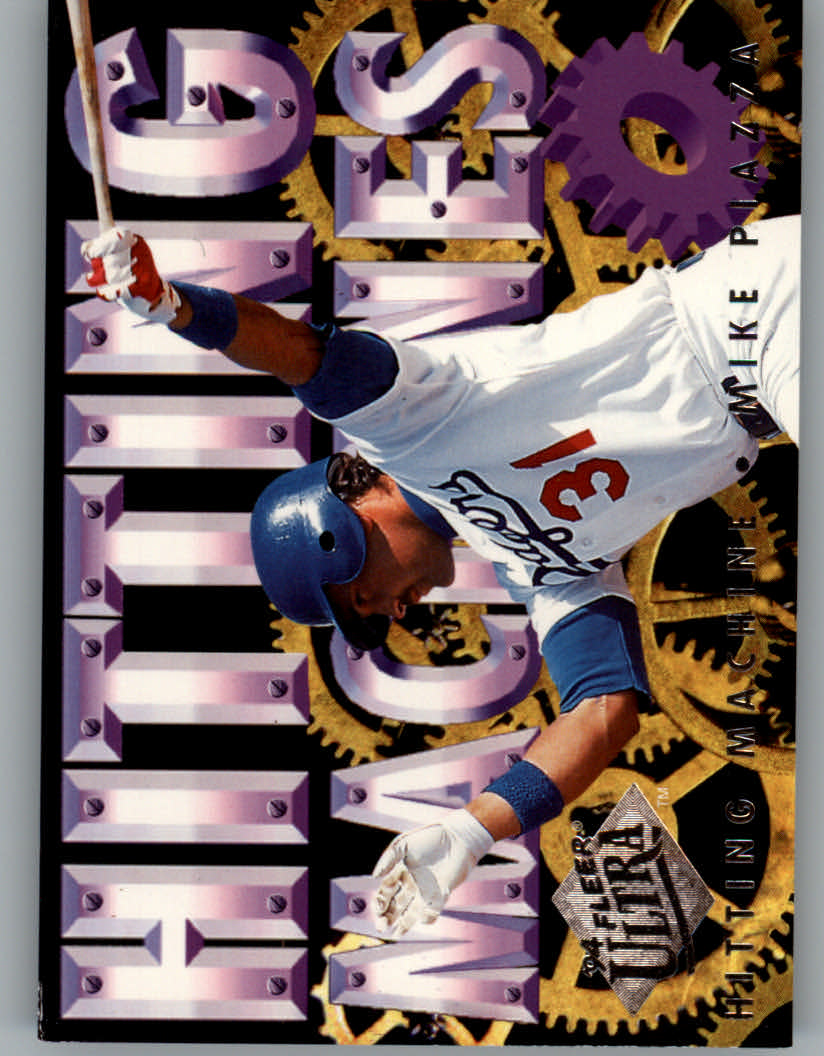 1994 Ultra Hitting Machines #9 Mike Piazza
