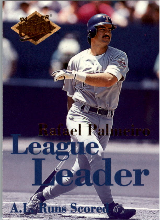 1994 Ultra League Leaders #2 Rafael Palmeiro
