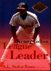 1994 Ultra League Leaders #3 Kenny Lofton