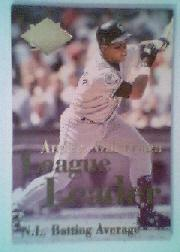 1994 Ultra League Leaders #6 Andres Galarraga