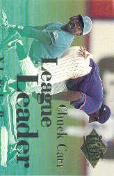 1994 Ultra League Leaders #8 Chuck Carr