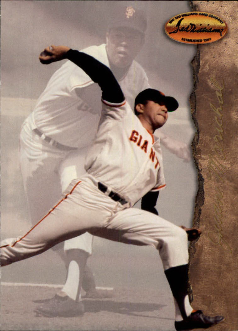 1994 Ted Williams #54 Juan Marichal