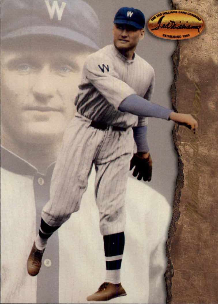 1994 Ted Williams #89 Walter Johnson