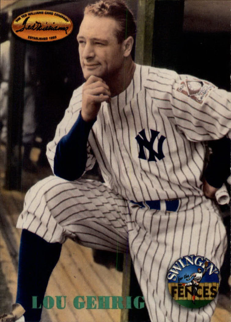1994 Ted Williams #147 Lou Gehrig