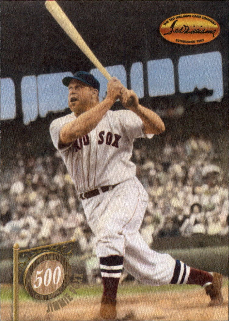 1994 Ted Williams 500 Club #5 Jimmie Foxx front image