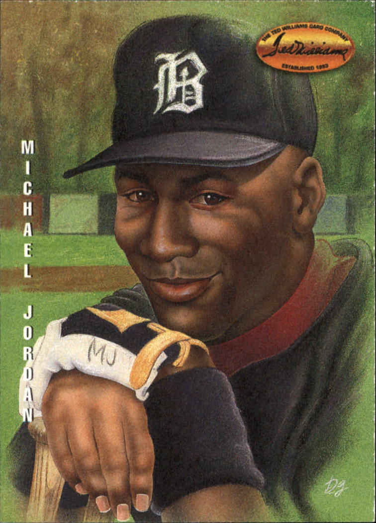 1994 Ted Williams Dan Gardiner Collection #DG1 Michael Jordan