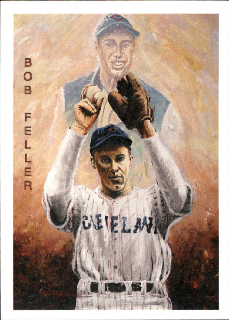 1994 Ted Williams Locklear Collection #LC12 Bob Feller