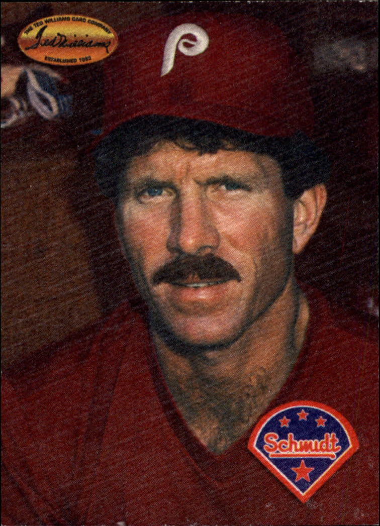 1994 Ted Williams Mike Schmidt #MS1 Mike Schmidt/Mike front image