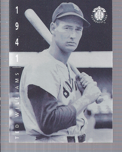 1994 Upper Deck: The American Epic #51 Ted Williams