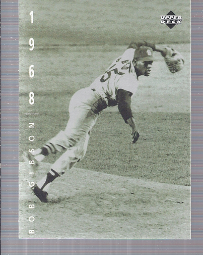 1994 Upper Deck: The American Epic #69 Bob Gibson