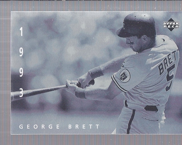1994 Upper Deck: The American Epic #80 George Brett
