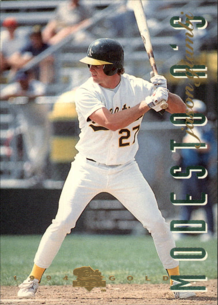 1994 Classic/Best Gold #125 Jason Giambi