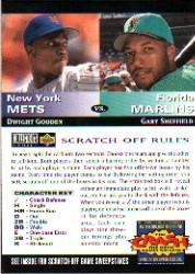 1994 Collector's Choice Team vs. Team #6 D.Gooden/G.Sheffield