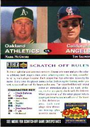 1994 Collector's Choice Team vs. Team #10 M.McGwire/T.Salmon