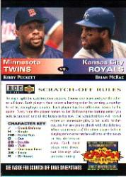 1994 Collector's Choice Team vs. Team #12 K.Puckett/B.McRae