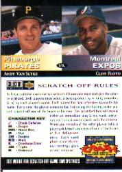 1994 Collector's Choice Team vs. Team #15 A.Van Slyke/C.Floyd