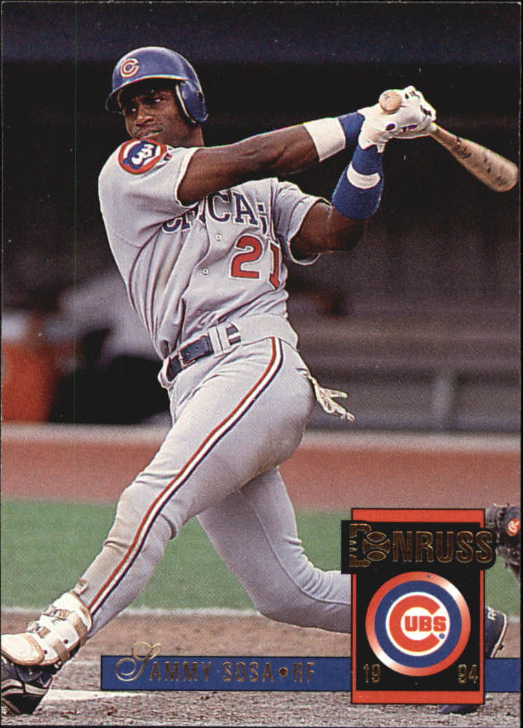 1994 Donruss #337 Sammy Sosa