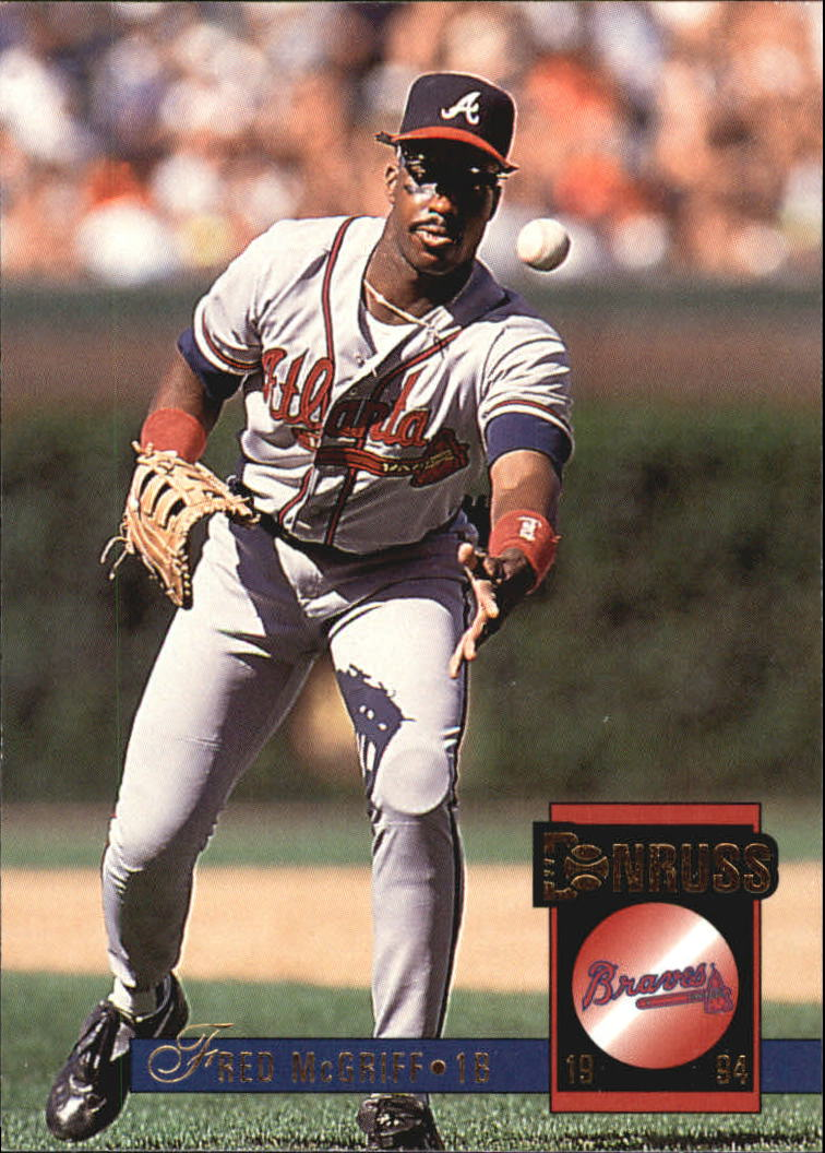 1994 Donruss #342 Fred McGriff