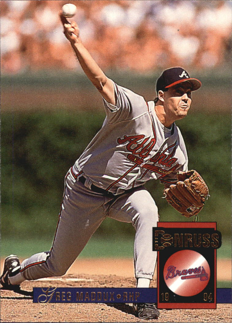1994 Donruss #380 Greg Maddux