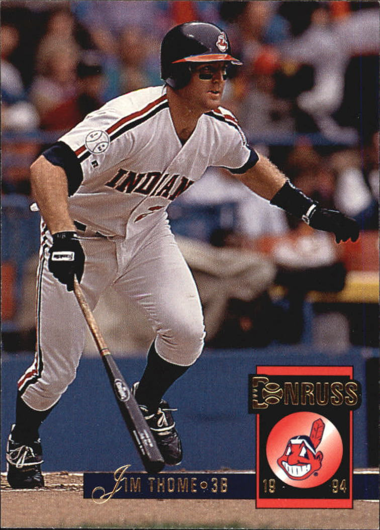 1994 Donruss #523 Jim Thome
