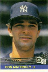 1994 Donruss Anniversary '84 #8 Don Mattingly