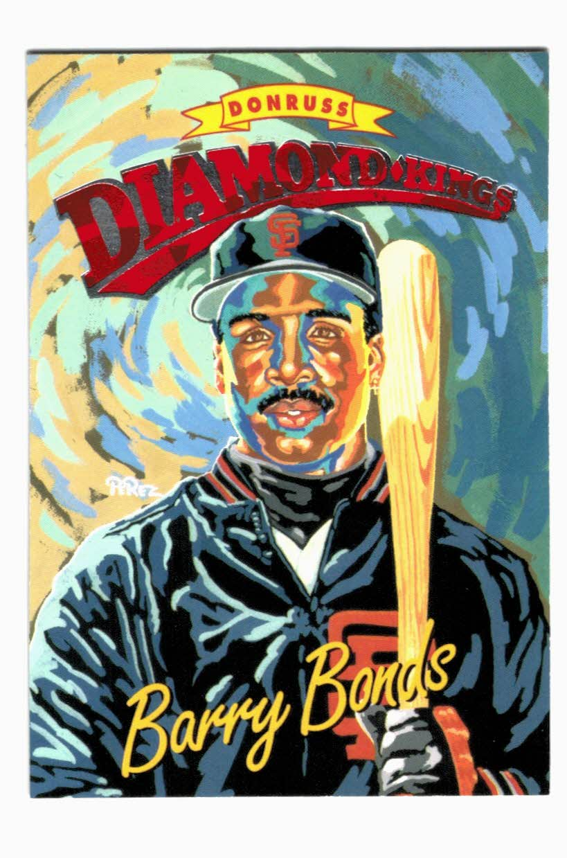 1994 Donruss Diamond Kings #DK1 Barry Bonds