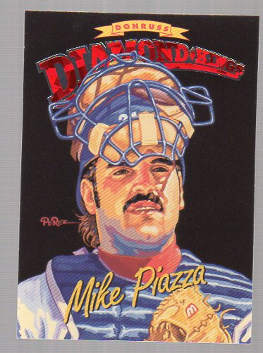 1994 Donruss Diamond Kings #DK15 Mike Piazza