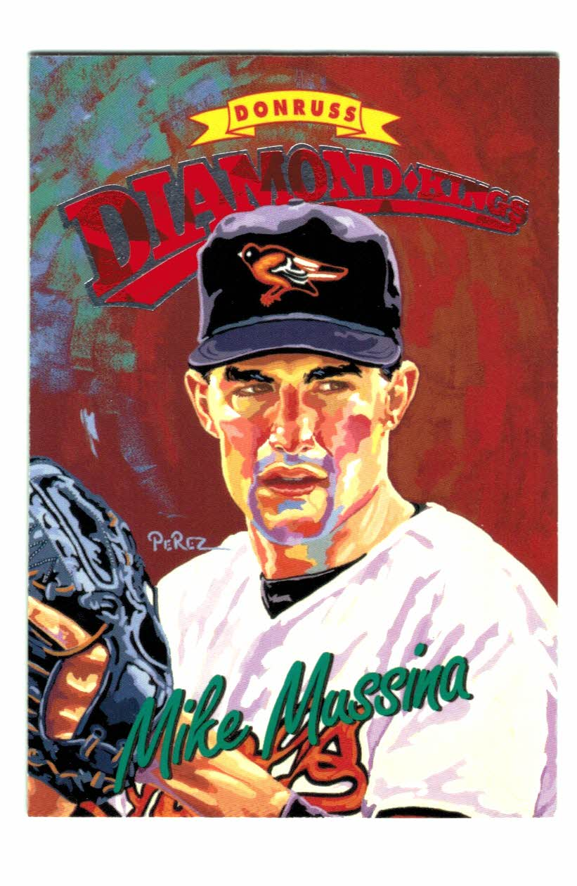 1994 Donruss Diamond Kings #DK26 Mike Mussina