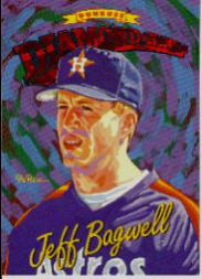 1994 Donruss Diamond Kings #DK27 Jeff Bagwell