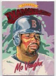 1994 Donruss Diamond Kings Jumbo #DK2 Mo Vaughn