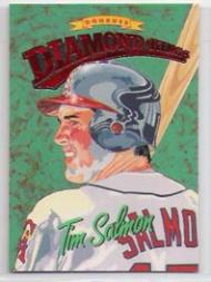 1994 Donruss Diamond Kings Jumbo #DK4 Tim Salmon