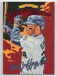 1994 Donruss Diamond Kings Jumbo #DK14 Ken Griffey Jr.