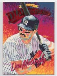 1994 Donruss Diamond Kings Jumbo #DK16 Don Mattingly