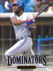 1994 Donruss Dominators #A5 Joe Carter