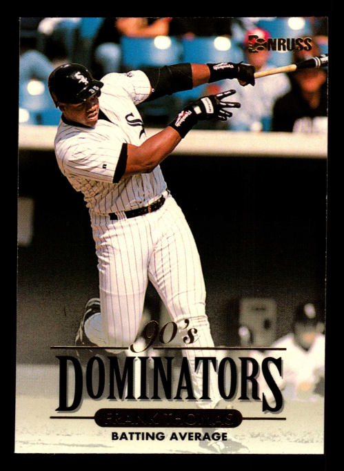 1994 Donruss Dominators #B2 Frank Thomas
