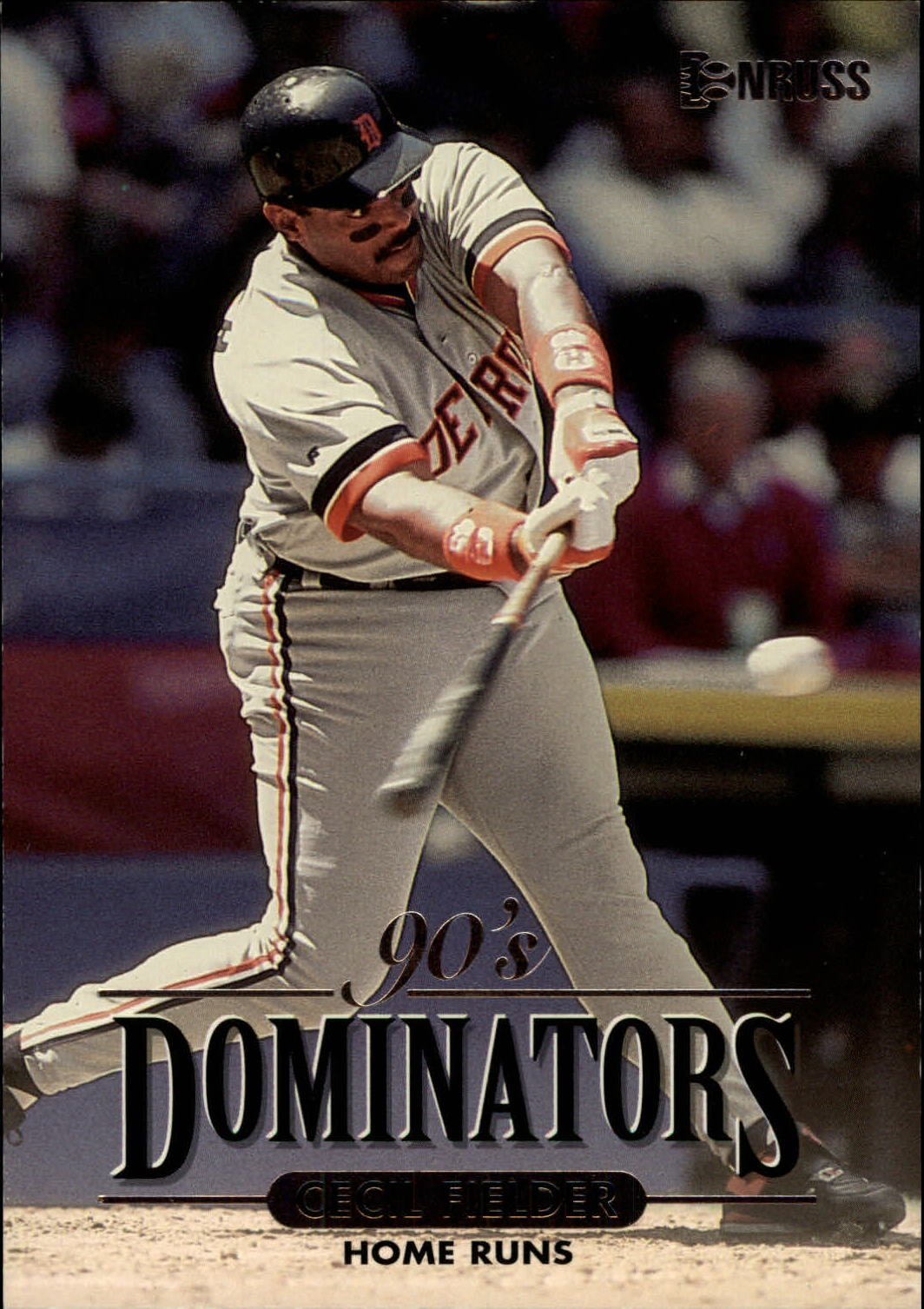 1994 Donruss Dominators Jumbos #A1 Cecil Fielder