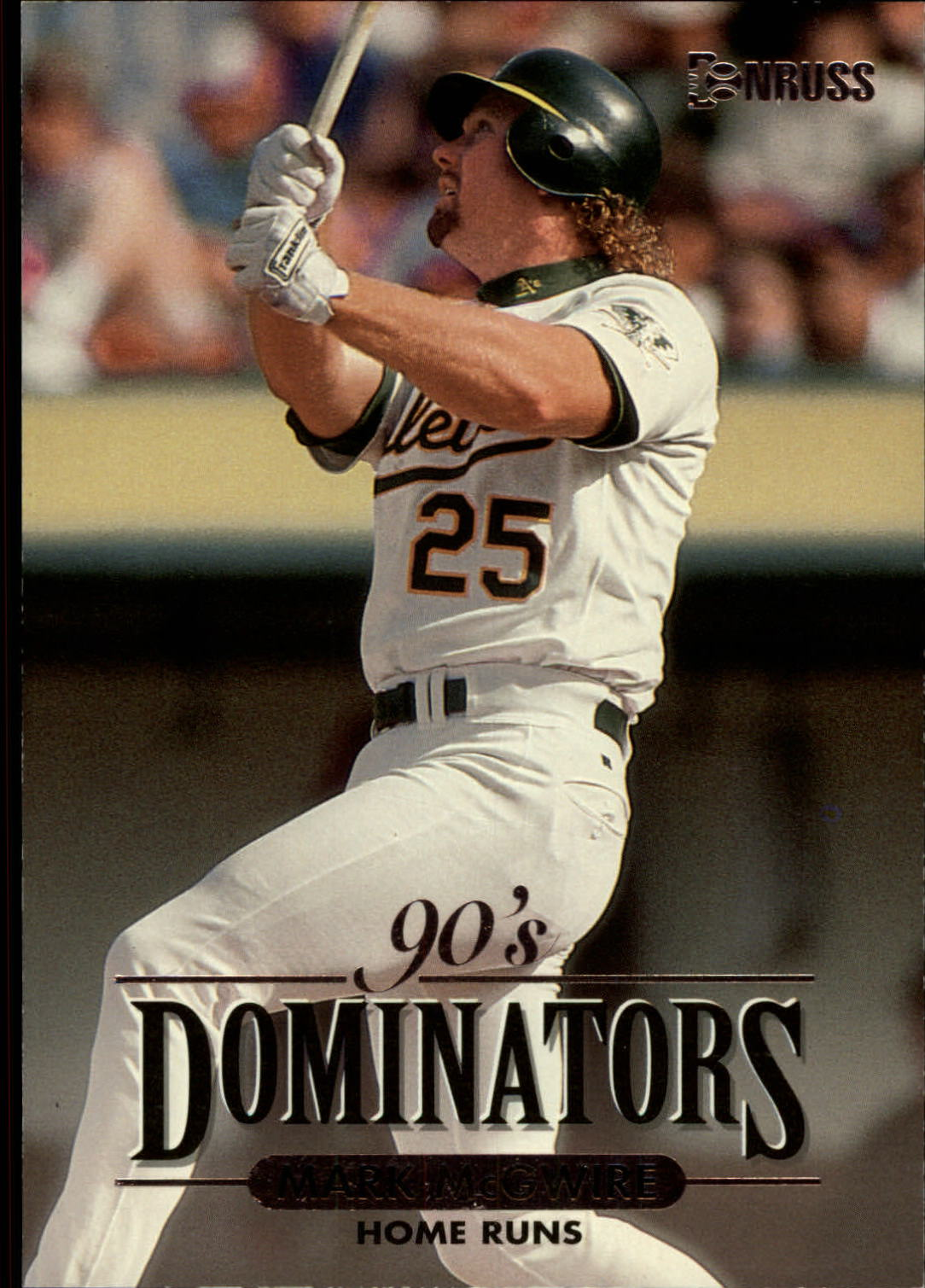 1994 Donruss Dominators Jumbos #A10 Mark McGwire
