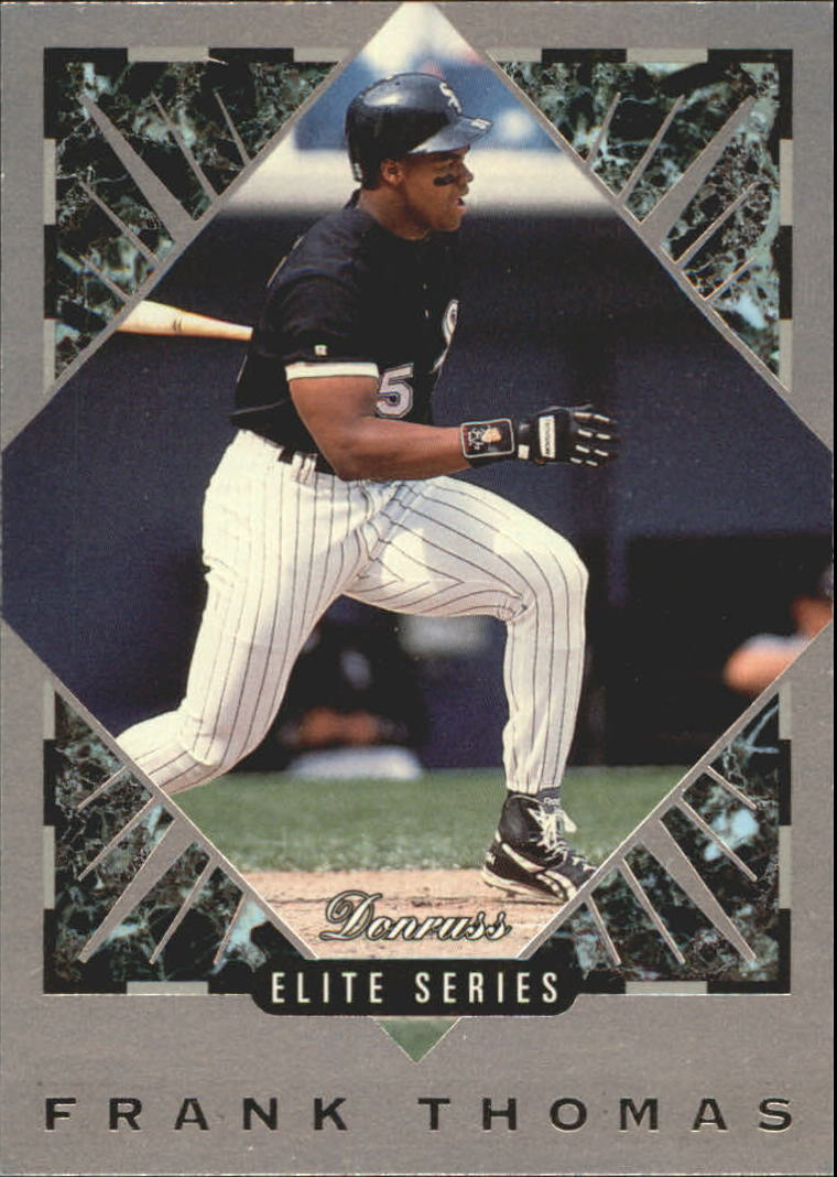1994 Donruss Elite #37 Frank Thomas