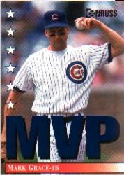 1994 Donruss MVPs #2 Mark Grace