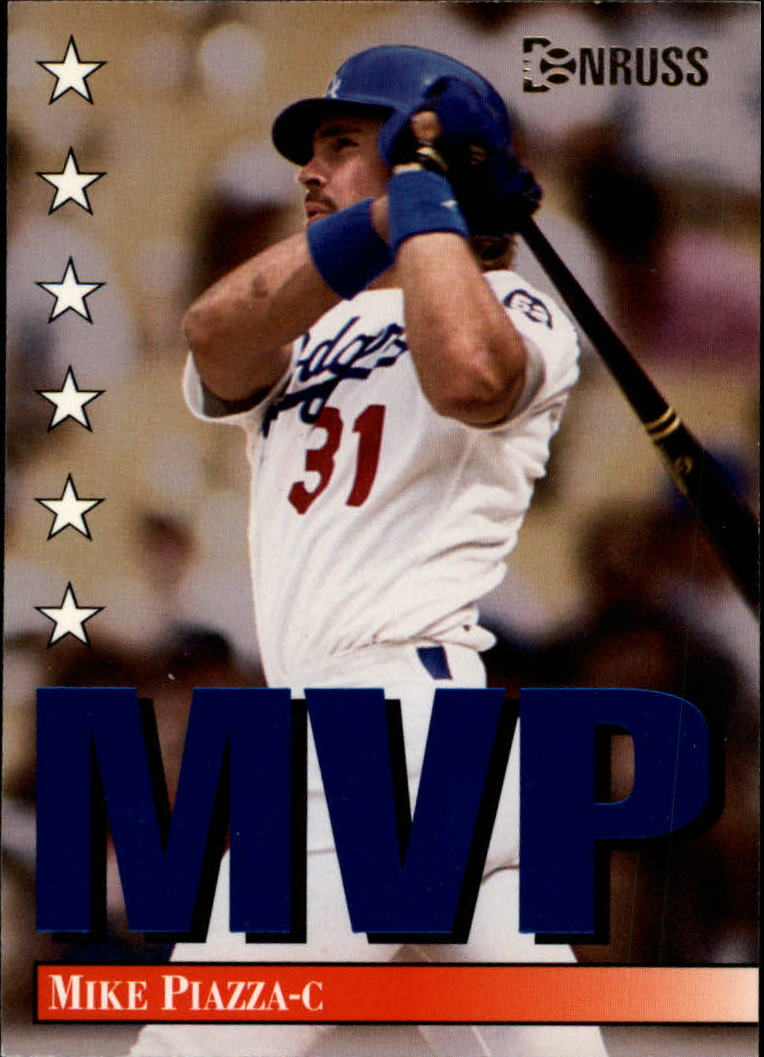 1994 Donruss MVPs #7 Mike Piazza
