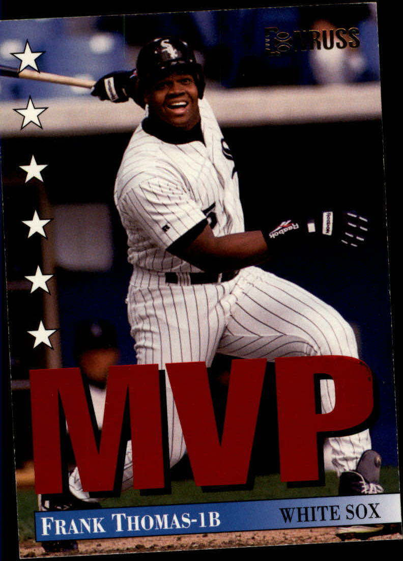 1994 Donruss MVPs #18 Frank Thomas