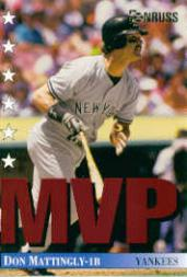 1994 Donruss MVPs #24 Don Mattingly