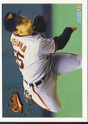 1994 Fleer #12 Mike Mussina
