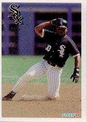 1994 Fleer #93 Tim Raines