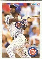 1994 Fleer #399 Sammy Sosa