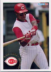 1994 Fleer #414 Barry Larkin